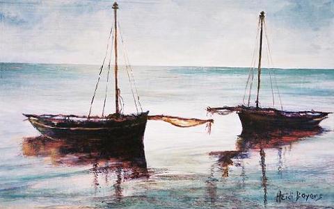 Mozambique Fishing Boats