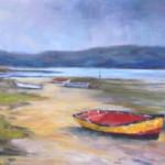 Knysna Lagoon - an oil painting by Heidi Beyers