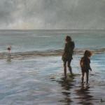Walvis Bay - an oil painting by Heidi Beyers