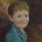 Jonty - An acrylic oil portrait by Heidi Beyers