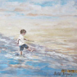 Padding - an oil painting by Heidi Beyers